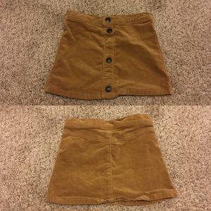 Velvety CRAZY8 girls skirt
